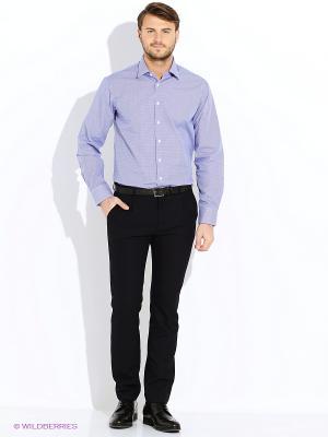 Рубашка Greg Horman. Цвет: синий