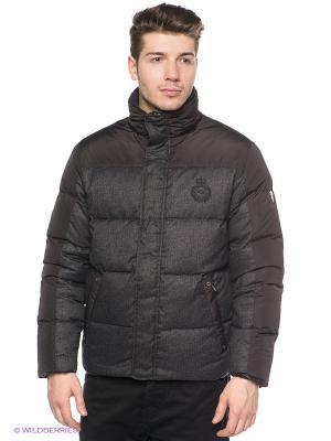 Куртка Stonecast. Цвет: темно-серый, черный