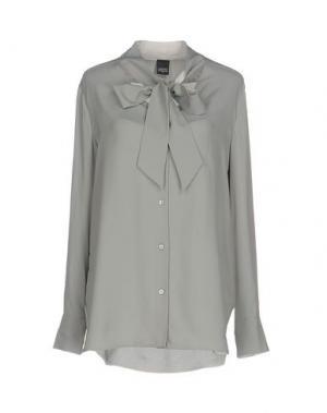 Pубашка LORENA ANTONIAZZI. Цвет: серый