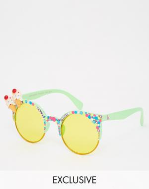 Spangled Солнцезащитные очки Cherry On Top Yum