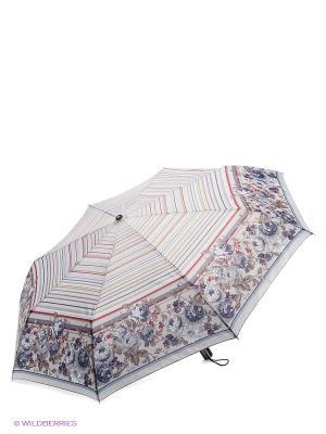 Зонт Fabretti. Цвет: серо-голубой