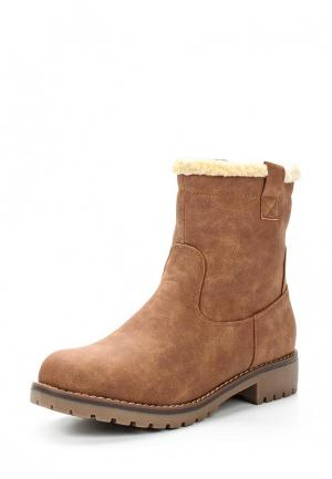 Ботинки Damerose. Цвет: коричневый
