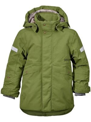 Куртка GNISTA DIDRIKSONS. Цвет: светло-зеленый