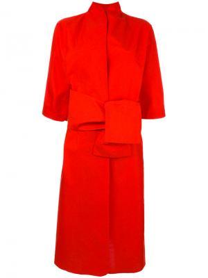 Kimono coat Daniela Gregis. Цвет: красный