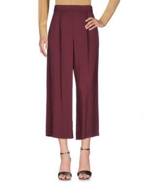 Повседневные брюки CAPRI. Цвет: красно-коричневый