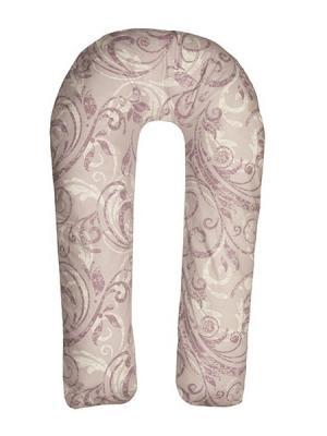 Подушка для беременных Здоровье и комфорт. Цвет: сиреневый, белый
