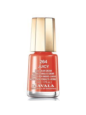 Лак для ногтей тон 264 Juicy Mavala. Цвет: оранжевый