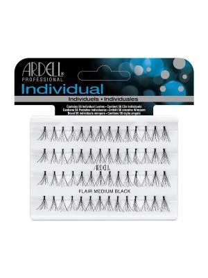 Пучки ресниц средние узелковые ARDELL. Цвет: черный