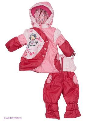 Комплект Батик. Цвет: розовый, малиновый