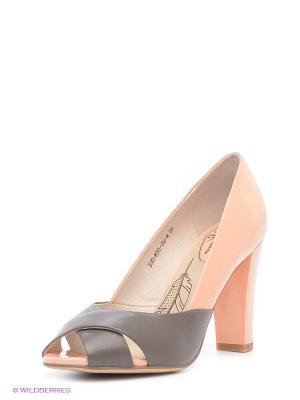 Туфли Sinta Gamma. Цвет: розовый, темно-серый