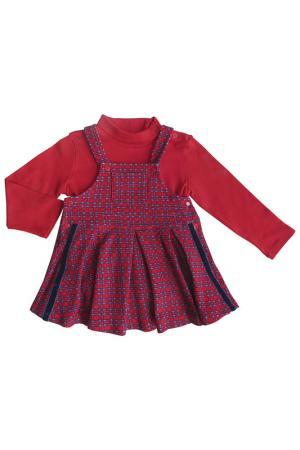 Комплект SONI KIDS. Цвет: красный