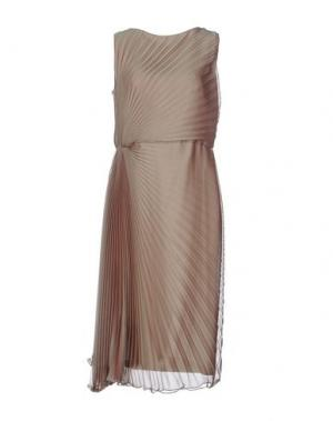 Платье до колена IVAN MONTESI. Цвет: хаки