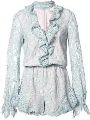 Платье Ludmila Alexis. Цвет: синий
