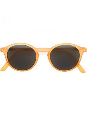 Солнцезащитные очки See Concept. Цвет: жёлтый и оранжевый