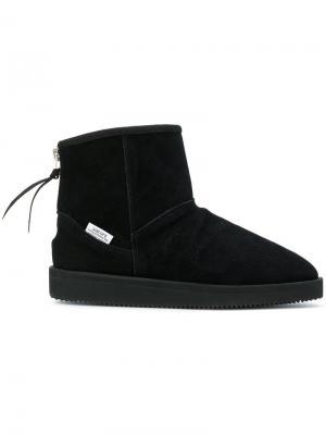 Ботинки по щиколотку Suicoke. Цвет: чёрный