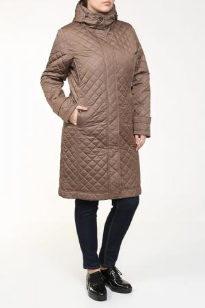 Пальто Loft. Цвет: коричневый