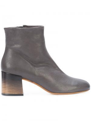 Ботинки по щиколотку Alberto Fermani. Цвет: чёрный
