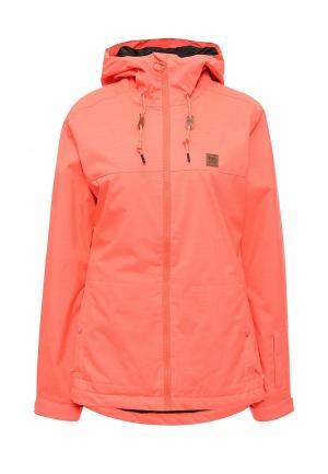 Куртка горнолыжная DC Shoes. Цвет: розовый
