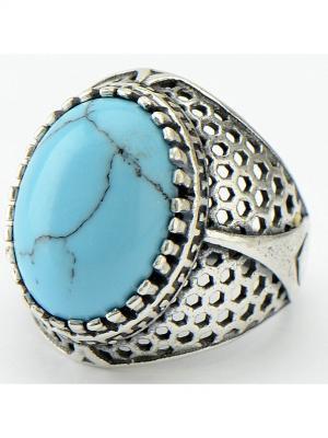 Кольцо Сальвия Колечки. Цвет: голубой