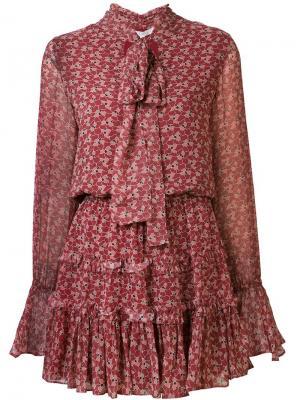 Платье Elida Alexis. Цвет: красный
