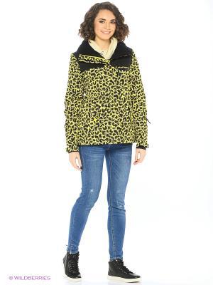 Куртка ROXY. Цвет: желтый