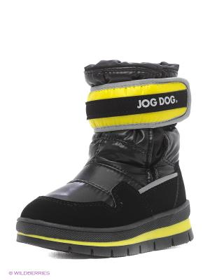 Сапоги Jog Dog. Цвет: черный