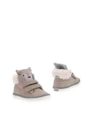 Полусапоги и высокие ботинки GIOSEPPO. Цвет: бежевый
