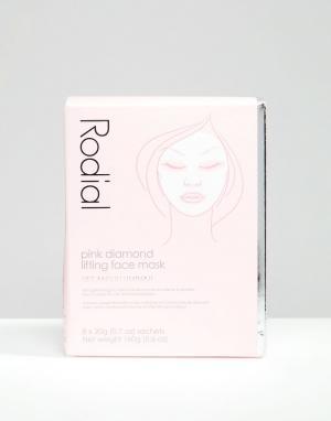 Rodial Маска для подтягивания кожи лица Pink Diamond 8 шт.. Цвет: бесцветный