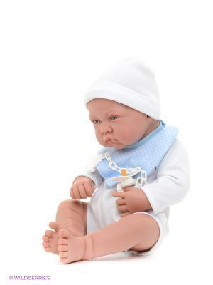 Кукла Мальчик Хьюго Antonio Juan. Цвет: голубой