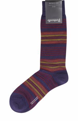 Шерстяные носки Pantherella. Цвет: фиолетовый