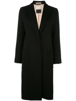 Пальто Nulania By Malene Birger. Цвет: чёрный