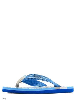 Шлепанцы S.OLIVER. Цвет: голубой