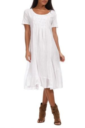 Платье Couleur lin. Цвет: белый