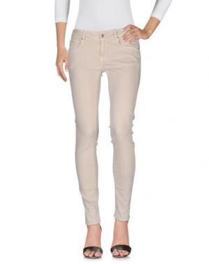 Джинсовые брюки CIMARRON. Цвет: светло-серый