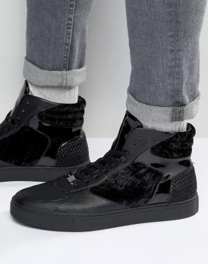 Glorious Gangsta Высокие кроссовки Xavier. Цвет: зеленый