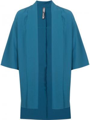 Пиджак в стиле кимоно Brandblack. Цвет: синий