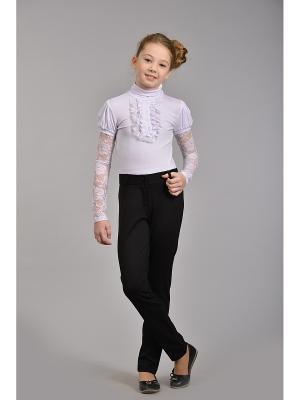 Блузка с длинными рукавами DESTY. Цвет: белый