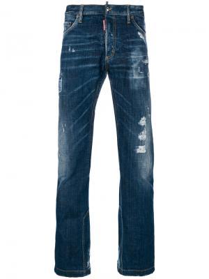 Расклешенные джинсы Dsquared2. Цвет: синий