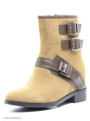 Ботинки Yaro. Цвет: оливковый, коричневый