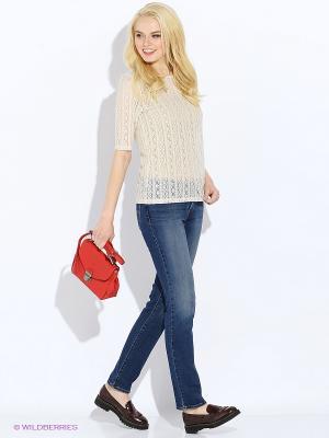 Пуловер Vero moda. Цвет: кремовый, хаки, бледно-розовый