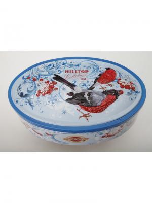 Чай Hilltop Зимняя клюква 100 гр. овал. шкатулка Морозное лакомство, шт. Цвет: черный