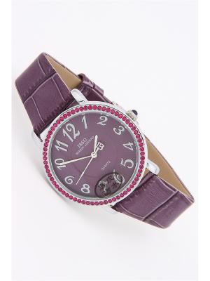 Часы на ремне IBSO. Цвет: сиреневый