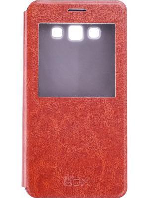 Samsung A700 Galaxy A7 skinBOX Lux AW. Цвет: коричневый
