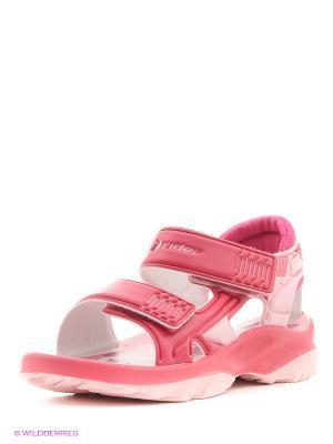Сандалии Rider. Цвет: розовый