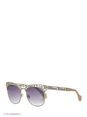 Солнцезащитные очки VW 869S 02 Vivienne Westwood. Цвет: серебристый