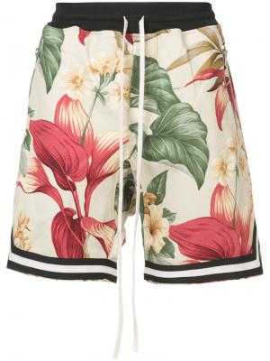 Tropical floral print shorts Fear Of God. Цвет: многоцветный