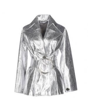 Пиджак REJINA PYO. Цвет: серебристый