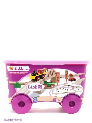 Игровой набор Eichhorn. Цвет: розовый, прозрачный