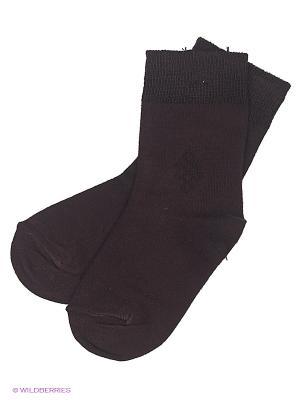Носки Totall. Цвет: коричневый