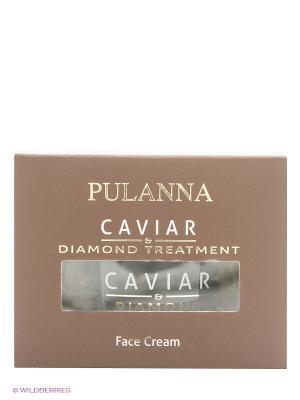 Восстанавливающий лифтинг-крем для лица -Treatment Face Cream 60г PULANNA. Цвет: черный, прозрачный